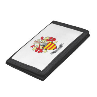 Cameron Family Crest Coat of Arms Trifold Wallet