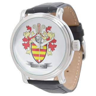 Cameron Family Crest Coat of Arms Watch