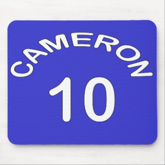 Cameron ~ Number 10 ~ U.K Election Mouse Pad