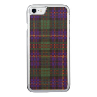 Cameron of Erracht clan Plaid Scottish tartan Carved iPhone 8/7 Case