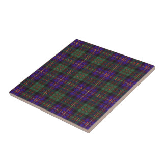 Cameron of Erracht Scottish tartan Tile