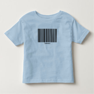 Cameron Personalized Functional Barcode Tee