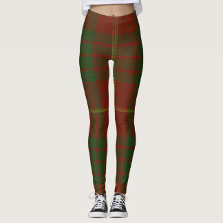 Cameron Tartan Clan Plaid Leggings