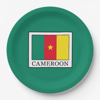 Cameroon 9 Inch Paper Plate