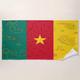 Cameroon Beach Towel