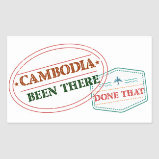 Cameroon Been There Done That Sticker