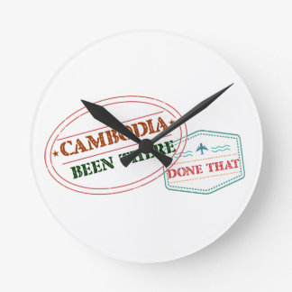 Cameroon Been There Done That Wallclock