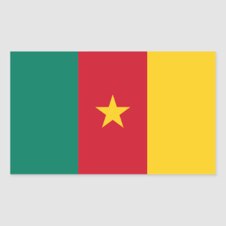 Cameroon/Cameroonian Flag Sticker