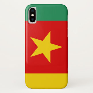 Cameroon country flag symbol long iPhone x case