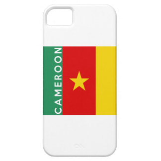 cameroon country flag symbol name text iPhone 5 cover
