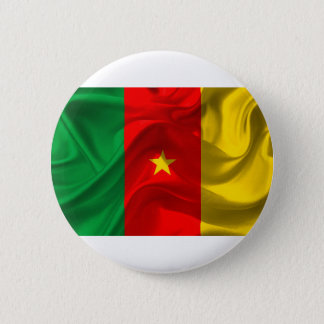 Cameroon Flag 2 Inch Round Button