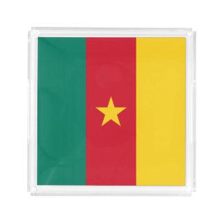 Cameroon Flag Acrylic Tray