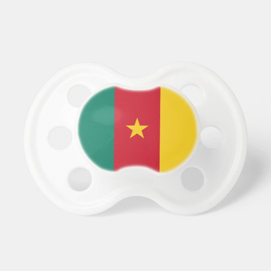 Cameroon Flag Booginhead Pacifier