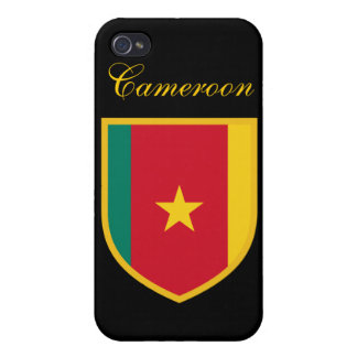 Cameroon Flag Case For iPhone 4