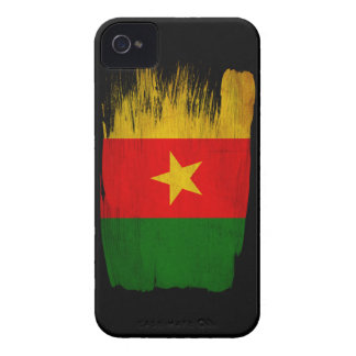 Cameroon Flag Case-Mate iPhone 4 Cases