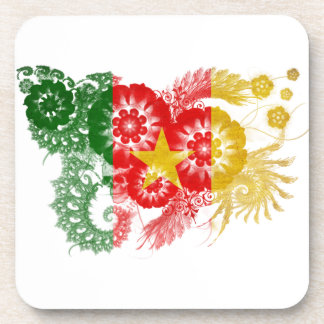 Cameroon Flag Coasters
