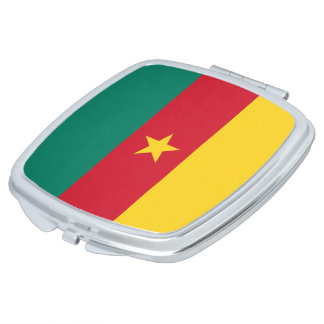 Cameroon Flag Compact Mirrors