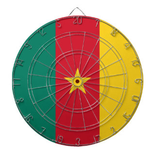Cameroon Flag Dart Boards