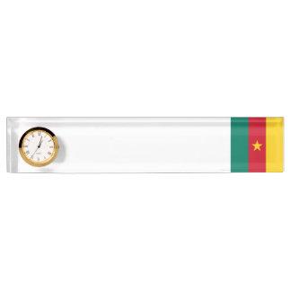 Cameroon Flag Desk Name Plates