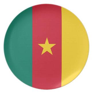 Cameroon Flag Dinner Plate