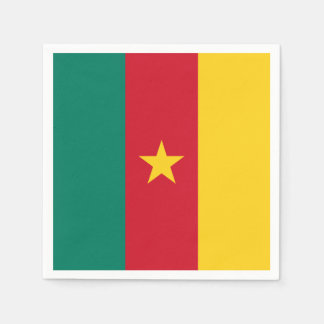 Cameroon Flag Disposable Napkins