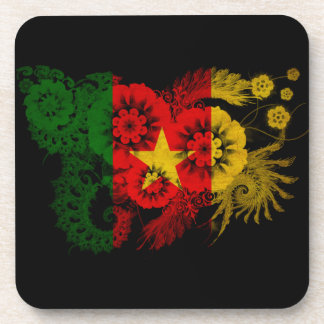 Cameroon Flag Drink Coasters