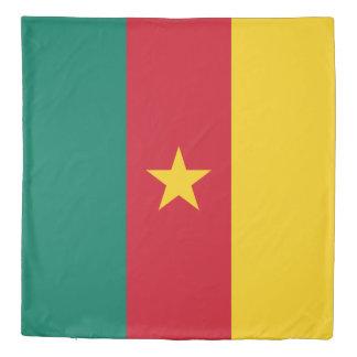 Cameroon Flag Duvet Cover