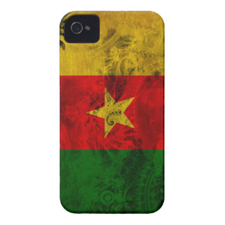 Cameroon Flag iPhone 4 Case-Mate Case