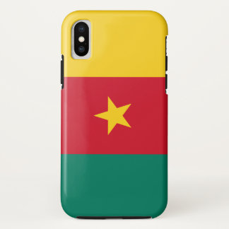 Cameroon Flag iPhone X Case