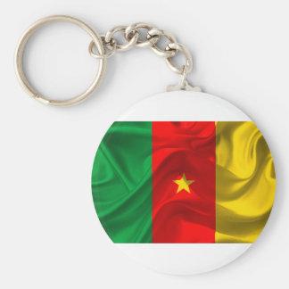 Cameroon Flag Keychain