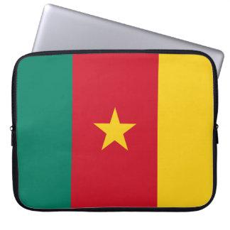 Cameroon Flag Laptop Sleeve