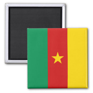 Cameroon Flag Magnet