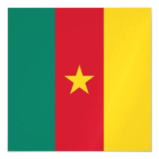 Cameroon Flag Magnetic Invitations