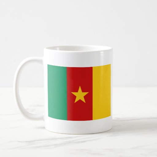 Cameroon Flag ~ Map Mug