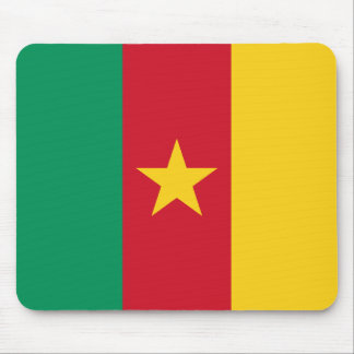 Cameroon Flag Mousepad
