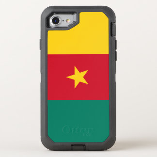 Cameroon Flag OtterBox Defender iPhone 8/7 Case