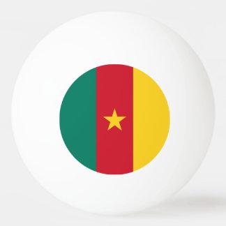 Cameroon Flag Ping Pong Ball