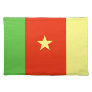 Cameroon Flag Placemats