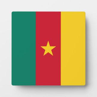 Cameroon Flag Plaque