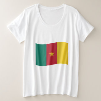 Cameroon Flag Plus Size T-Shirt