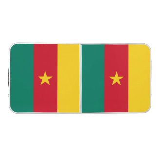Cameroon Flag Pong Table