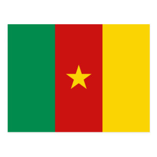 Cameroon Flag Postcard