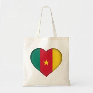 Cameroon Flag Tote Bag