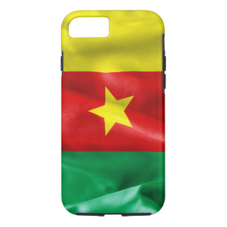 Cameroon Flag Tough iPhone 7 Case