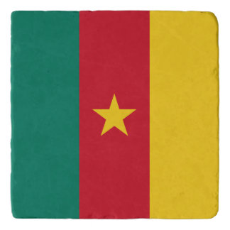 Cameroon Flag Trivet