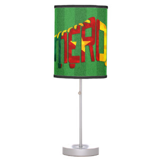 Cameroon Football Boot Table Lamp