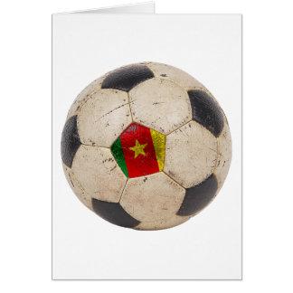 Cameroon Football Card