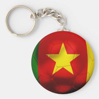 Cameroon Football Keychain