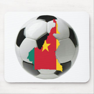 Cameroon football soccer mouse pad