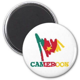 Cameroon Goodies 2 Inch Round Magnet